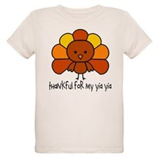 Thankful for Yia Yia T-Shirt