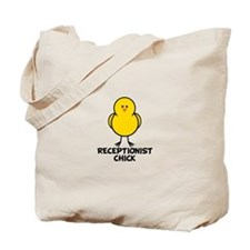 Receptionist Chick Tote Bag