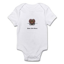 Guinean Coat of Arms Seal Infant Bodysuit