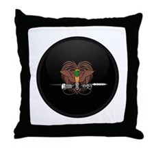 Coat of Arms of Papua New Gui Throw Pillow