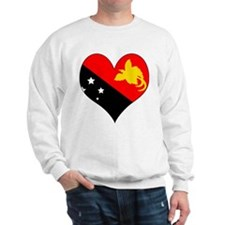 I Love Papua New Guinea Sweatshirt