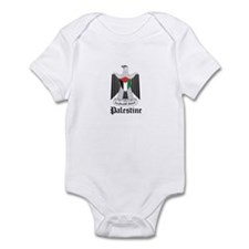 Palestinian Coat of Arms Seal Infant Bodysuit