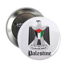 "Palestinian Coat of Arms Seal 2.25"" Button"