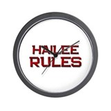 hailee rules Wall Clock