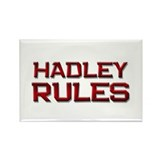 hadley rules Rectangle Magnet (10 pack)