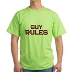 guy rules Green T-Shirt