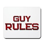 guy rules Mousepad