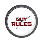 guy rules Wall Clock