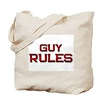 guy rules Tote Bag