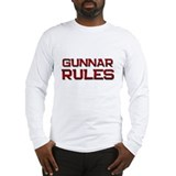 gunnar rules Long Sleeve T-Shirt