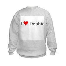 I Love Debbie Sweatshirt
