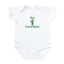 Mya - Future Soldier Infant Bodysuit