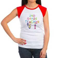 2nd Grade Teacher Tee
