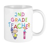 2nd Grade Teacher Small Mug