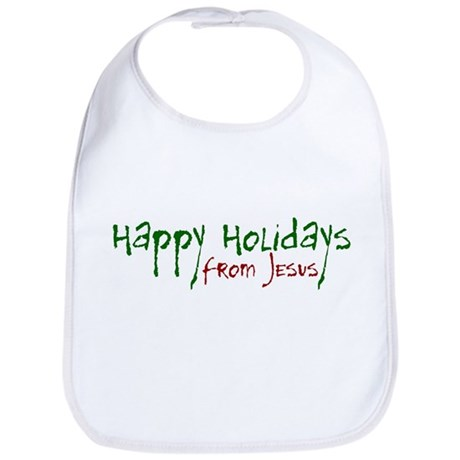 Happy Holidays from Jesus Bib