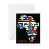 Ndebele Girl Greeting Card