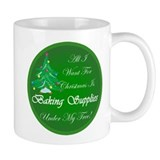 Christmas Tree Baking Small Mug