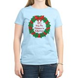 Wreath Baking Christmas  T-Shirt