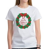 Wreath Baking Christmas Tee