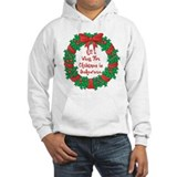 Wreath Baking Christmas Jumper Hoody