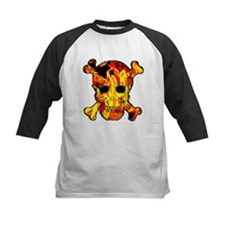 Skull with fire Tee