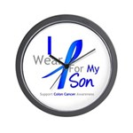 Colon Cancer Son Wall Clock