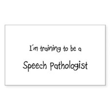 I'm training to be a Speech Pathologist Decal