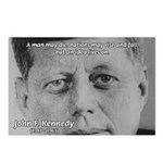 Power of the Idea JFK Postcards (Package of 8)