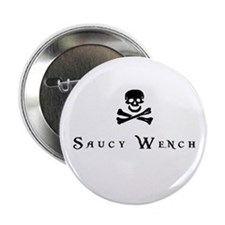"Saucy Wench 2.25"" Button"