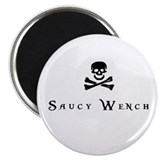 Saucy Wench Magnet