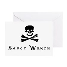 Saucy Wench Greeting Cards (Pk of 10)