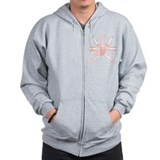Oman Coat of Arms Zip Hoodie