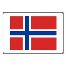 Norway Flag Banner