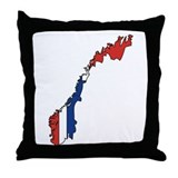 Norwegian Throw Pillow