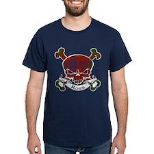 Ross Tartan Skull T-Shirt
