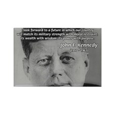 American Politics JFK Rectangle Magnet (100 pack)