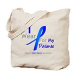 Colon Cancer Partner Tote Bag