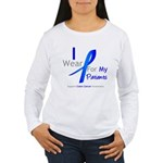Colon Cancer Partner Women's Long Sleeve T-Shirt