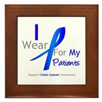 Colon Cancer Partner Framed Tile
