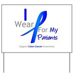 Colon Cancer Partner Yard Sign