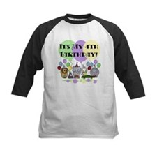 Zoo 4th Birthday Tee