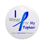 Colon Cancer Nephew Ornament (Round)