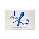 Colon Cancer Nephew Rectangle Magnet (100 pack)