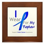 Colon Cancer Nephew Framed Tile