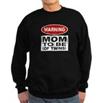 Mom To Be Twins Sweatshirt (dark)