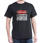 Mom To Be Twins Dark T-Shirt