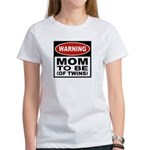 Mom To Be Twins Women's T-Shirt
