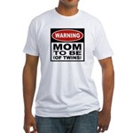 Mom To Be Twins Fitted T-Shirt