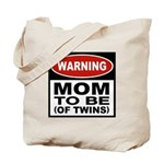 Mom To Be Twins Tote Bag