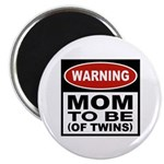 Mom To Be Twins Magnet
